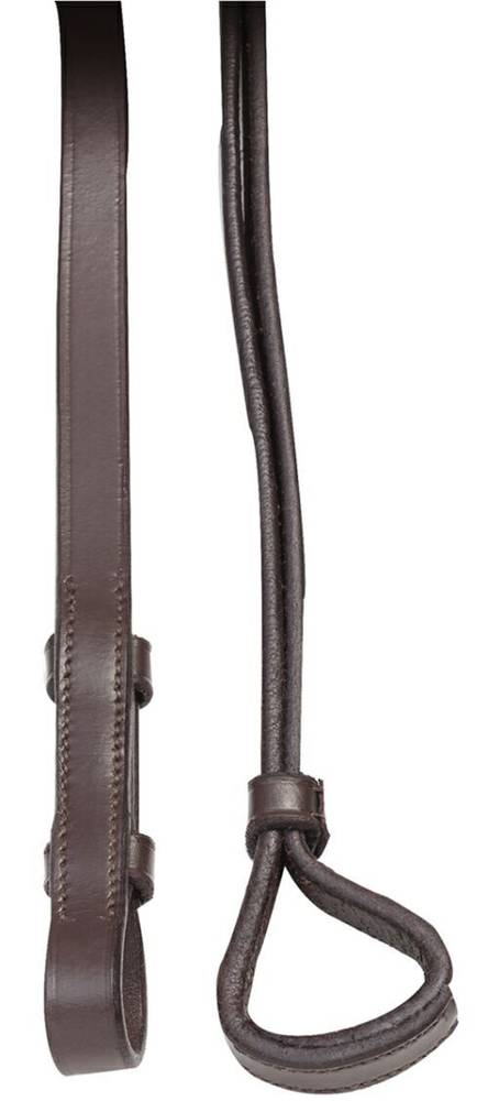 Aintree Curb Reins - Hook ends