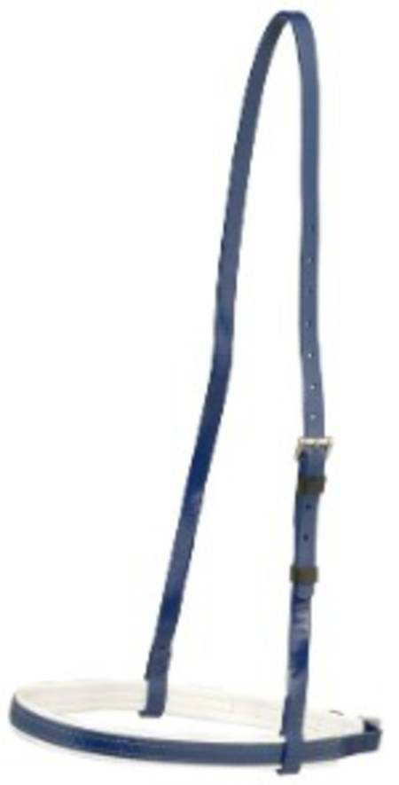Aintree Cavesson Noseband- White Trim