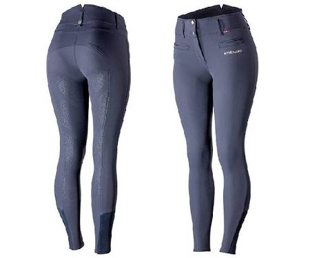 B//Vertigo Tiffany Ladies' High Waist Silicone Full Seat Breeches
