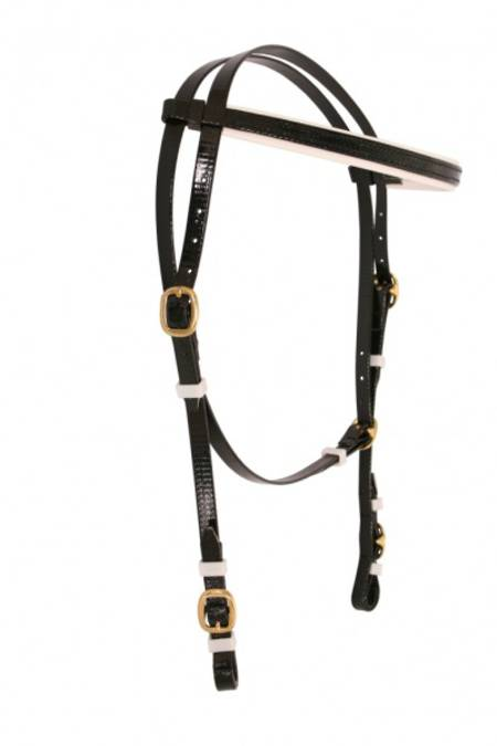 Flair Running Throat Bridle Head-Brass