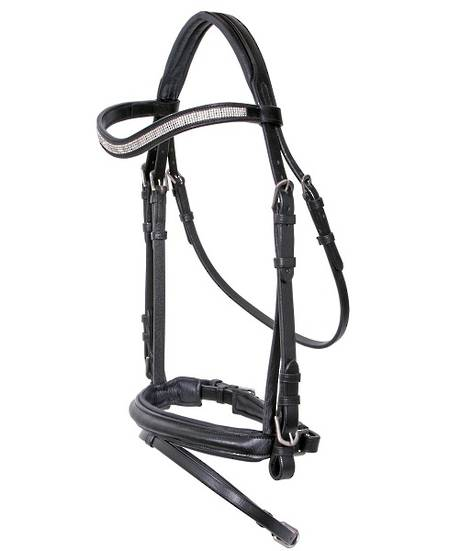 Cavallino Bridle with Bling