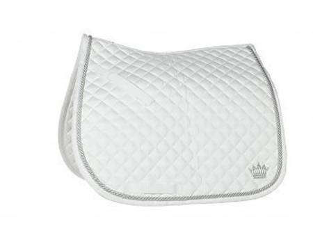 Horze Dressage Silver-Cord Saddle Pad