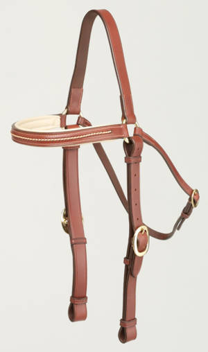 Oregon Plaited Brow Barcoo Bridle Head