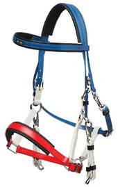 Zilco Tri Colour Marathon Bridle