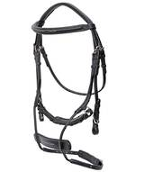 Cavallino Sliding Drop Noseband Bridle